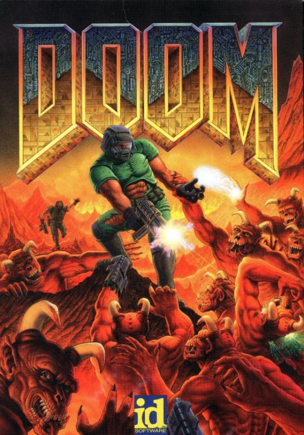 4d438256 North American artwork, first published by id Software in 1993.