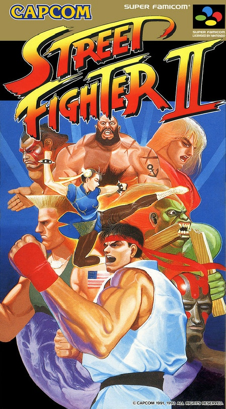 Street Fighter Series Box Art Page Box Art